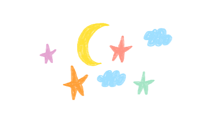 freetoedit moon stars rainbows aesthetic soft softcore softaesthetic doodle drawing vector cute red messy kidcore cottagecore y2k