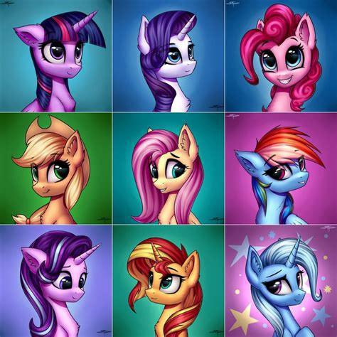 #freetoedit #mlp #mylittlepony #mylittleponyfriendshipismagic #friends #friendship #amies #amitié #twilightsparkle #fluttershy #applejack #rainbowdash #rarity #pinkiepie #sunsetshimmer #starlightglimmer #trixie