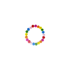kidcore rainbow colorful cute bracelet smileyface smile freetoedit