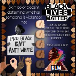 blacklivesmatter remixit shareit problackisntantiwhite endracism endwhitesupremacy freetoedit