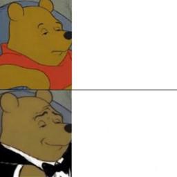 freetoedit poohmeme poohmemes winniethepooh winnie the pooh bear meme memes template format