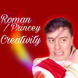 sanderssides creativity roman romansanders creativitysanders princey princeysanders