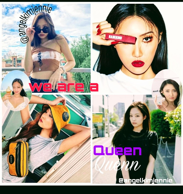 you are a queen 💜 #jennie #hwasa