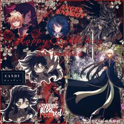 freetoedit hades alone saintseiya saintseiyathelostcanvas thelostcanvas tlc anime animeboy red redaesthetic swedaboo