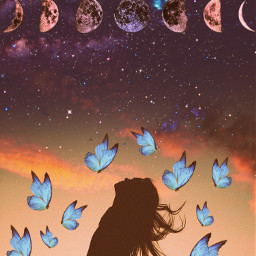 freetoedit space sky butterfly picsartedit picsart picsartlife photo photoshoot photogtaphy photographyart art artwork photoshop photoedit popular photos photoart