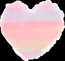 heart soft pastelaesthtic aestheticheart pastelheart cloud cute kawaii kawaiisticker freetoedit