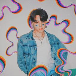freetoedit jimin bts parkjimin mochi bangtan edit rccolorfulshapes colorfulshapes