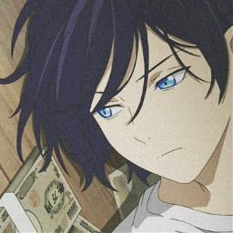 noragami yato noragamiaragoto animeaesthetic blue blueasthetic profilepic profilepicture anime animeicon freetoedit