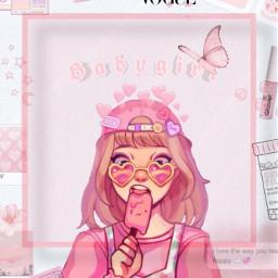 girl pink love cute aesthetic pinkaesthetic lightpink darkpink hotpink clouds icecream icelolly vogue babygirl heart heartcrown heartshapesunglasses pinksunglasses pinkhair pinkaccessories freetoedit