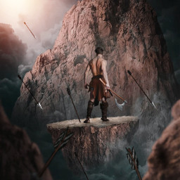 freetoedit warrior force mountain epic