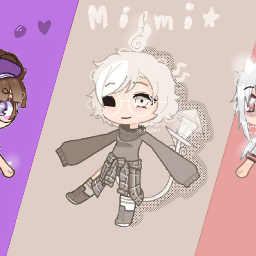gachaclub gachlife gachaedit edit 3 mainocs oc ocs introduction drawing inspired creditstoowner 3ocs differentstyle aesthetics ibispaintx ibispaint gacha gachaclubedit