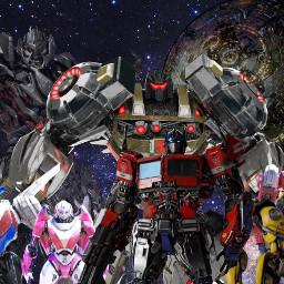 transformers optimusprime prime optimus bumblebee ironhide arcee wheeljack grimlock megatron autobots decepticon decepticons space cybertron robot robots