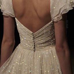 эстетика aeshtetic платье блестки эффектbling