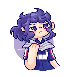 art drawing artwork illitration digitalart cartoon cute cuteart coloured chibi oc request commision artrequest fanart myheroacademia bokunoheroacademia mha bnha shinso genderbend female femaleshinso shinsogenderbend mhagenderbend freetoedit