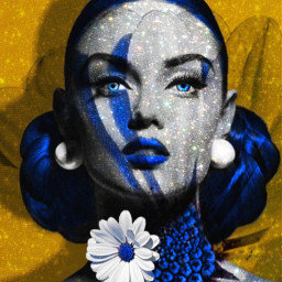 artisticportrait colorful beauty hdreffect glitter undefined myedit remixed doubleexposure remixit freetoedit