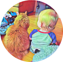 son bestie cats cat kitty bond cool awesome art artistsoninstagram colorful mashup freetoedit