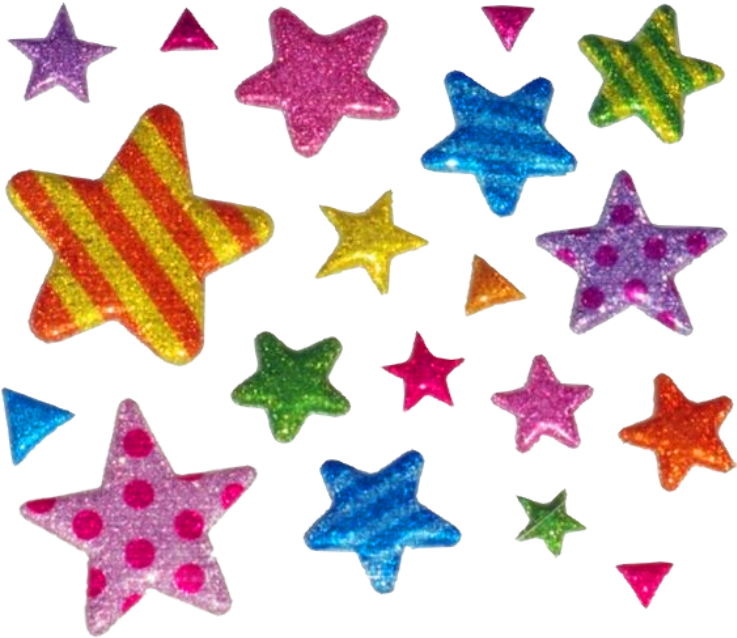 #indie #nostalgia #y2k #2000s #kidcore #retro #alt #hobicore #aesthetic #messy #soft #softcore #tumblr #90s #cute #star #stars #glitter #sticker