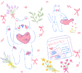 background backgrounds sticker kawaii cute flower pink pastel freetoedit