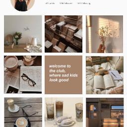 lightacademia aesthetic beige brown instagram edited france freetoedit
