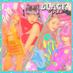 blackpink selenagomez jennie jisoo lisa rose icecream