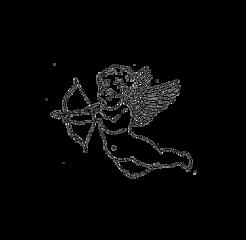 freetoedit tumblr desenho black preto draw angel