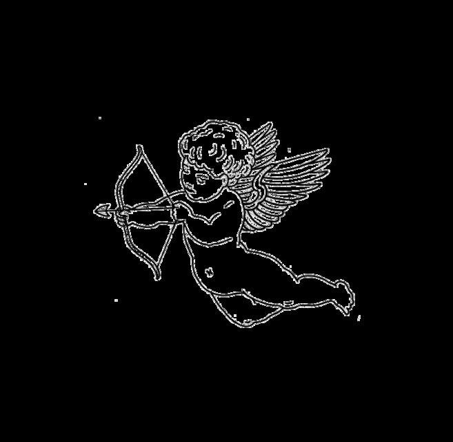 #freetoedit #tumblr #desenho #black #preto #draw #angel