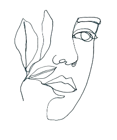 freetoedit tumblr desenho black preto draw nature woman