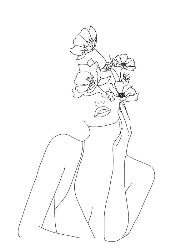 #freetoedit #tumblr #desenho #black #preto #draw#woman #nature