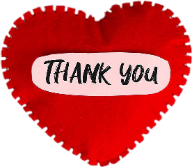 heart thankyou love red freetoedit
