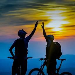 freetoedit heypicsat remixit night cycling