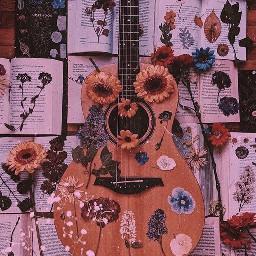 freetoedit wallpaper wallpapers guitar songs savetheremixchat arthoe artaesthetic vintage