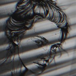 freetoedit remix mrlb2000 madewithpicsart beautiful drawing awesome portrait