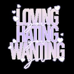 freetoedit remixit textoverlay love hate weheartit niche pinkniche text