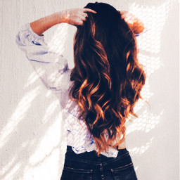 girlhairbrown girl woman jeans blouse rclaceshadow laceshadow