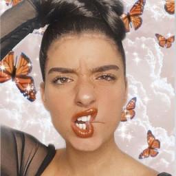 dixie dixiedamelio dixied dixieandaddison dixieandcharli dixiedamelioedit butterfly butterflies cloud clouds