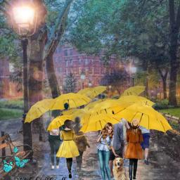 natalygiselle amarillo💛 fotoedit dibujo coloramarillo💫 paisaje amarillo sombrillasamarillas personas amarillo🌻 todoamarillo amarillo. freetoedit coloramarillo srcyellowumbrella yellowumbrella