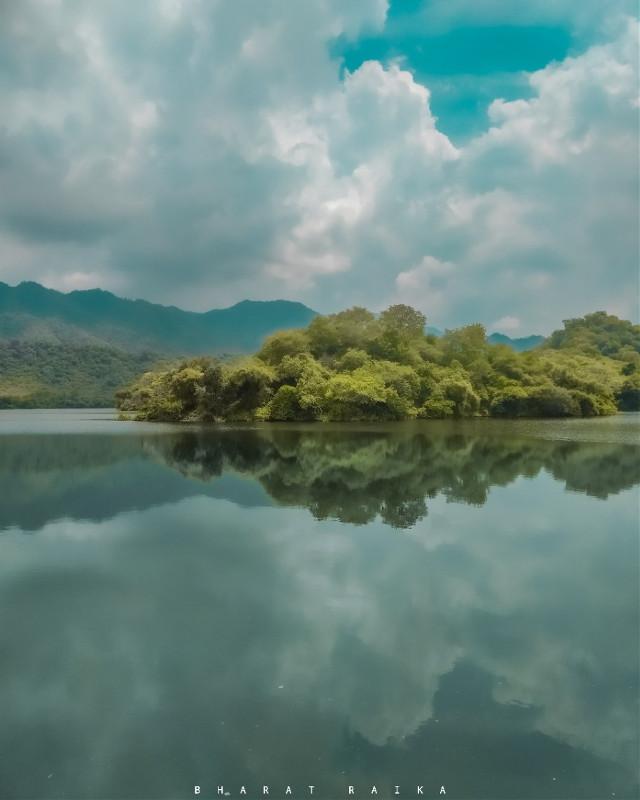 mein kho gya..   @picsart @freetoedit  #landscapes #dam #monsoonseason #naturephotography  #bharatraikaphotography #photography
