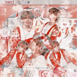 v bts kpop edit aesthetic soft filter ibispaintx kimtaehyung btsv maknaeline taehyung 95line vocalist btstaehyung taehyungedit korean idol