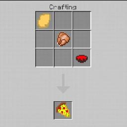 mod minecraft essen food pizza crafting