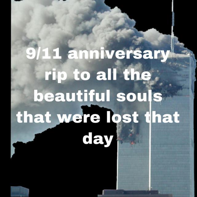 #9/11 #twintowers #newyork #19anniversary #september11 #restinpeace #2001 😭😭😭