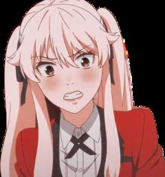 mary saotome saotomemary marysaotome kakegurui anime animegirl animefemale animewoman animesticker girl female womam sticker kawaii aesthetic cute freetoedit