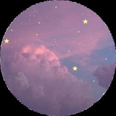 purple sky pfp freetoedit