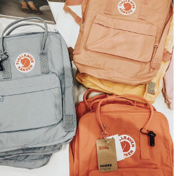 backpack fjallravenkanken fjallravenkankenbackpack backpacks fall autumn vibes colors pallete palette colorful orange aesthetic asthetic