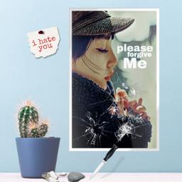 yup_sup babypanda girl prettygirl sadgirl sad knife bulb rock frame glass aesthetic paper pin mylove