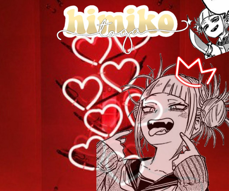 Toga Himiko 😘💖 #redaesthetic #red #togahimiko #myheroacademia