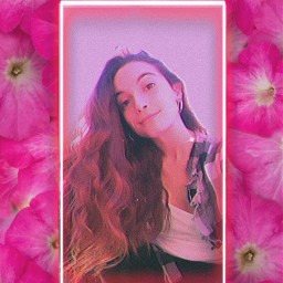 pink freetoedit rosa flower flor flowers pinkbackground fondorosa aesthetic pinkaesthetic flowerbackground girl edit vhs pinkvhs girledit