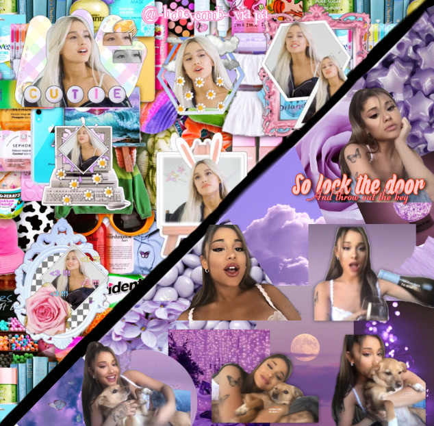 tysm @-honeycomb- for collabing with me!!! #arianagrande #collab #stuckwithu #arianators #yuh