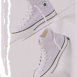 converse shoe hahahah purple