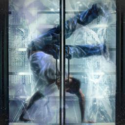 fridge freeze cold iced frozen breaking breakdance breakdancer quote surreal dance freetoedit