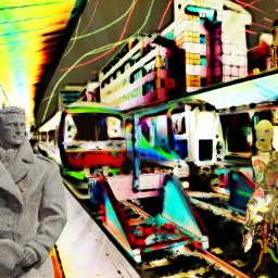 photography travel reading railwaystation trains rtfartee myphoto myedit lightmask cartooniser colourchange mysticker